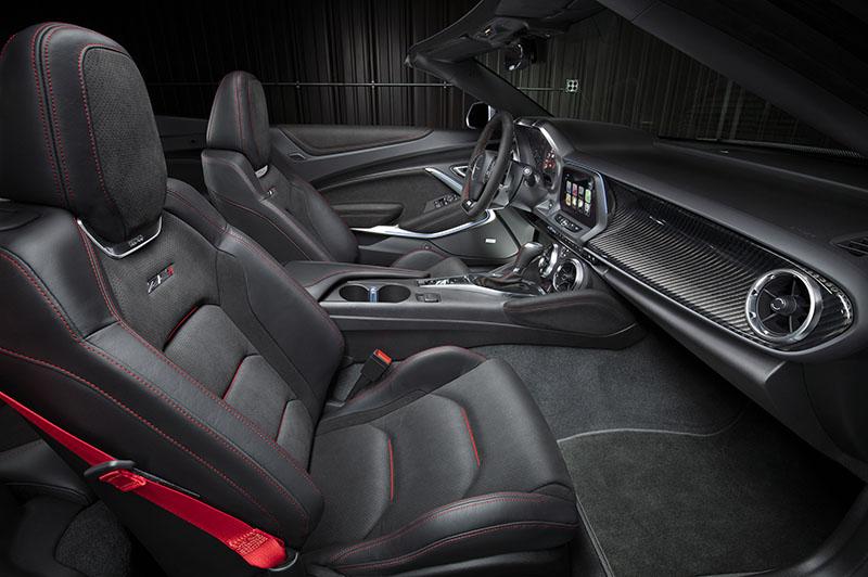 Foto Interiores Chevrolet Camaro Zl1 Convertible Descapotable 2016