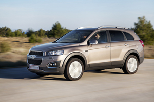 Foto Exteriores (1) Chevrolet Captiva Suv Todocamino 2013