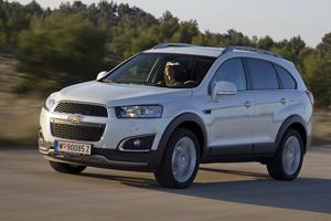 Foto Exteriores (14) Chevrolet Captiva Suv Todocamino 2013