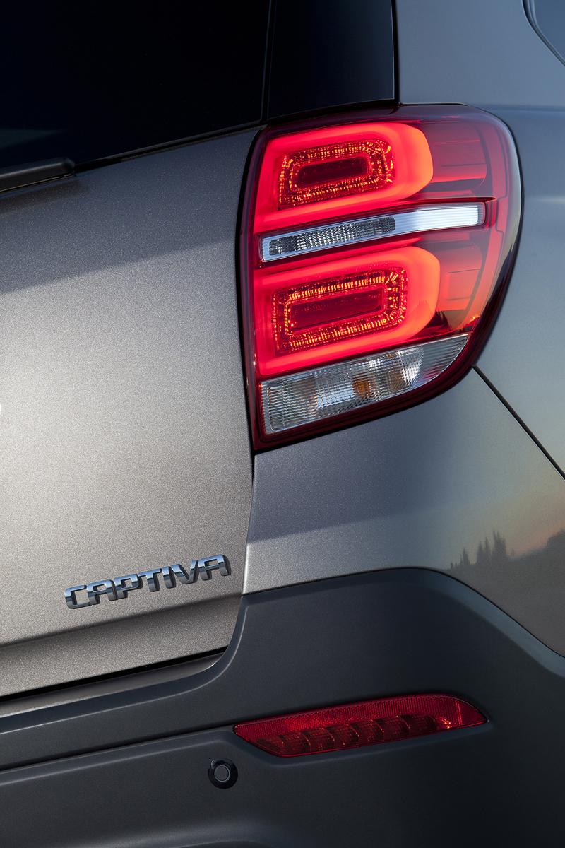 Foto Detalles (2) Chevrolet Captiva Suv Todocamino 2013
