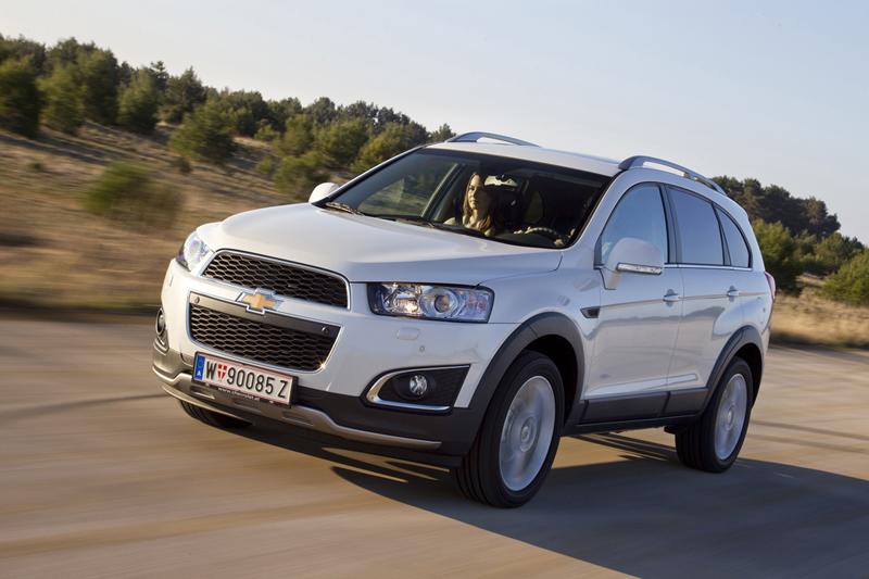 Foto Exteriores (15) Chevrolet Captiva Suv Todocamino 2013