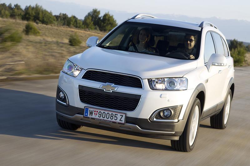 Foto Exteriores (17) Chevrolet Captiva Suv Todocamino 2013