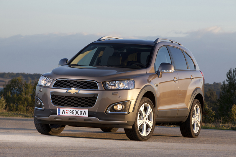 Foto Exteriores (29) Chevrolet Captiva Suv Todocamino 2013