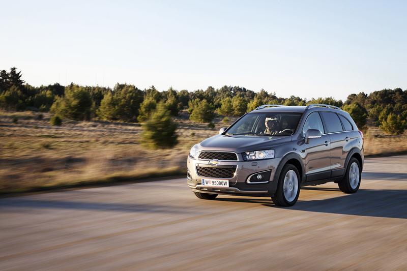 Foto Exteriores (40) Chevrolet Captiva Suv Todocamino 2013