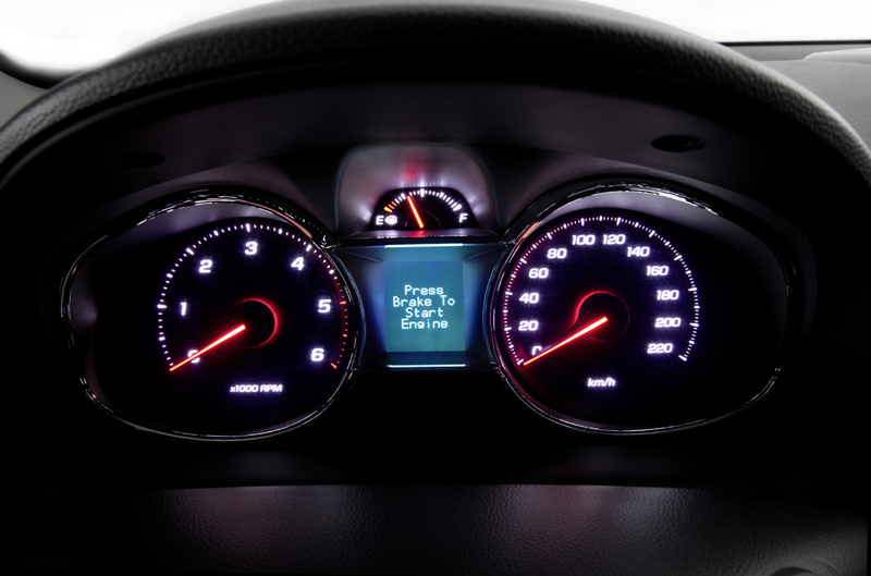 Foto Interiores (3) Chevrolet Captiva Suv Todocamino 2013