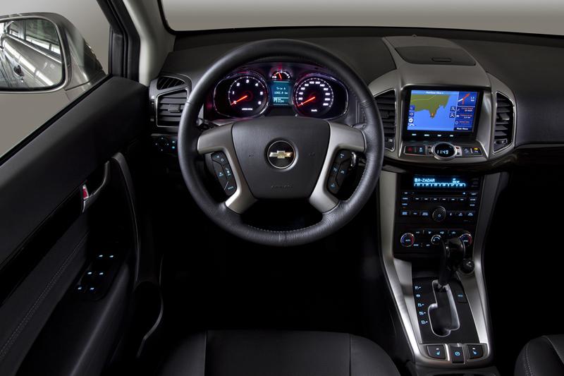 Foto Salpicadero Chevrolet Captiva Suv Todocamino 2013