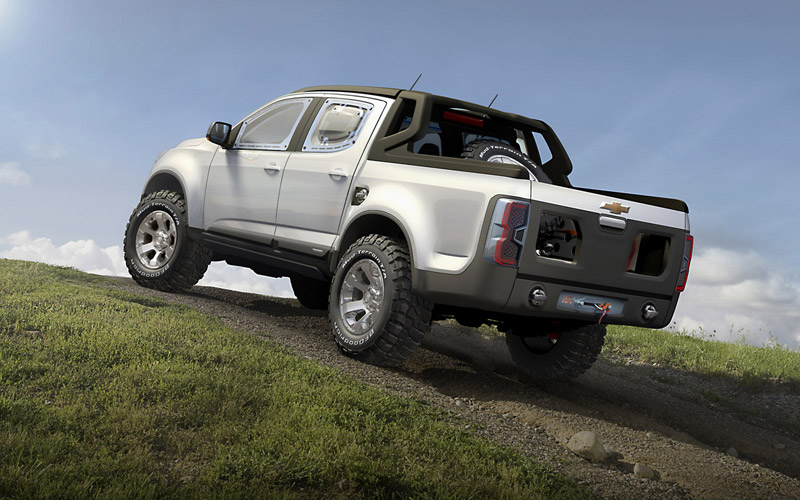 Foto Exteriores Chevrolet Colorado Pickup 2011