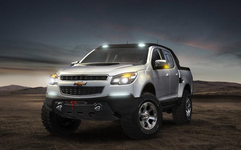 Foto Frontal Chevrolet Colorado Pickup 2011