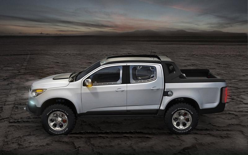 Foto Perfil Chevrolet Colorado Pickup 2011