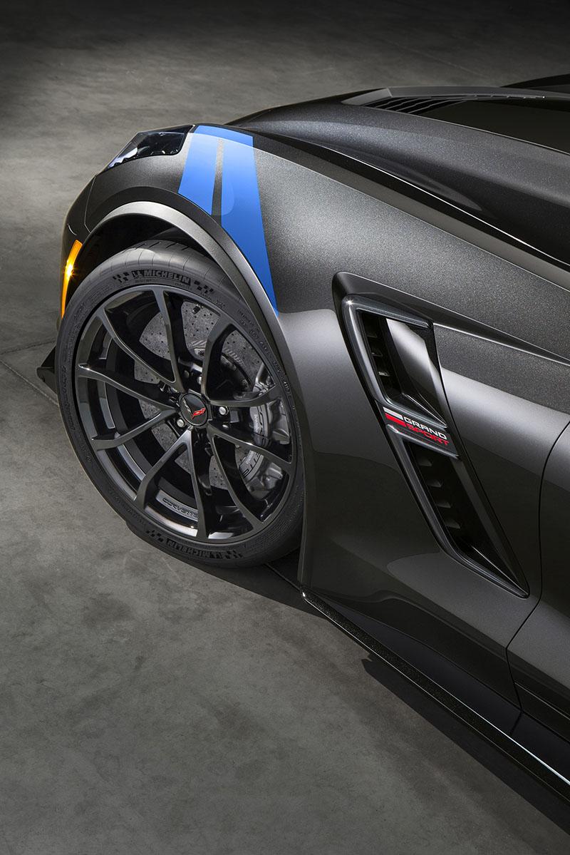 Foto Detalles Chevrolet Corvette Grand Sport Cupe 2016