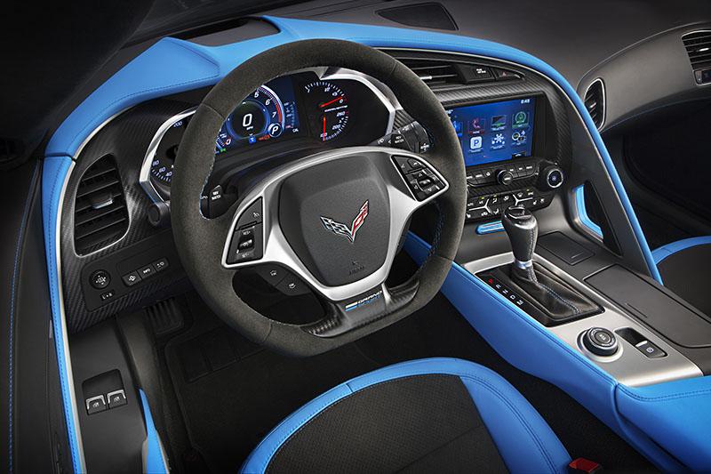 Foto Salpicadero Chevrolet Corvette Grand Sport Cupe 2016