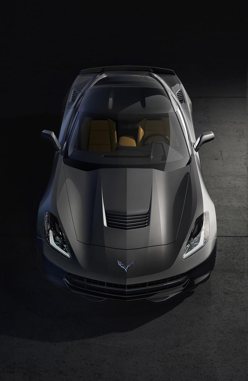 Foto Delantera Chevrolet Corvette Stingray Cupe 2013