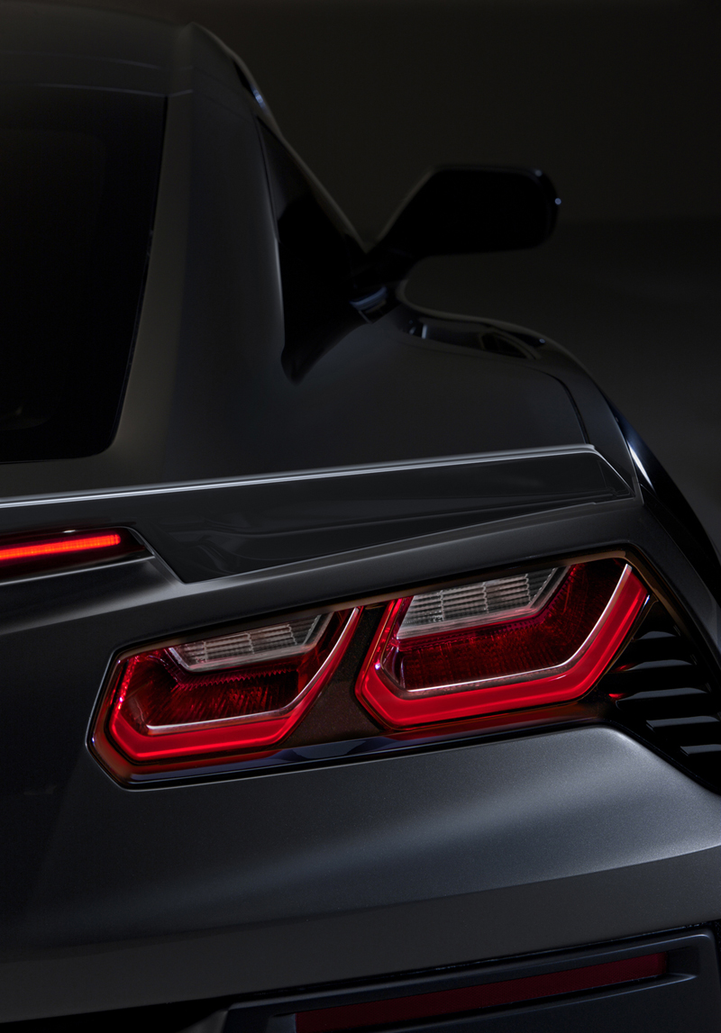 Foto Detalles Chevrolet Corvette Stingray Cupe 2013