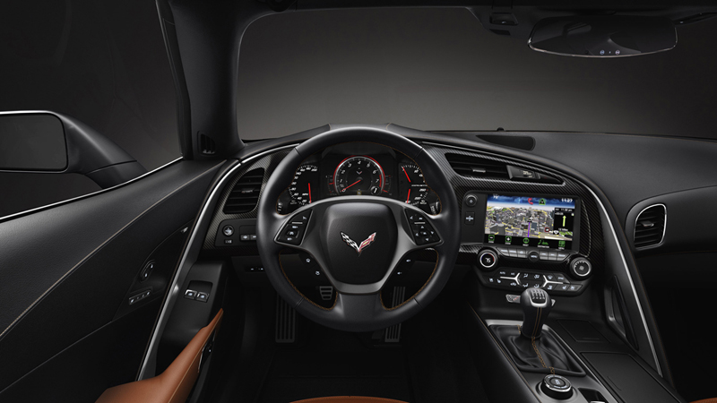 Foto Interiores Chevrolet Corvette Stingray Cupe 2013