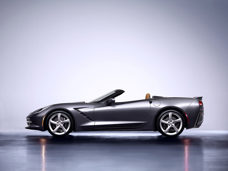 Foto Lateral Chevrolet Corvette Stingray Cupe 2013