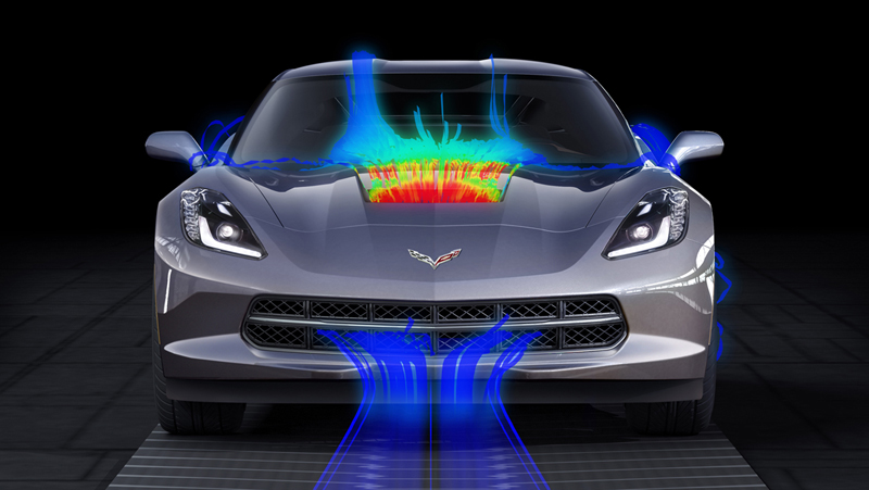 Foto Tecnicas Chevrolet Corvette Stingray Cupe 2013