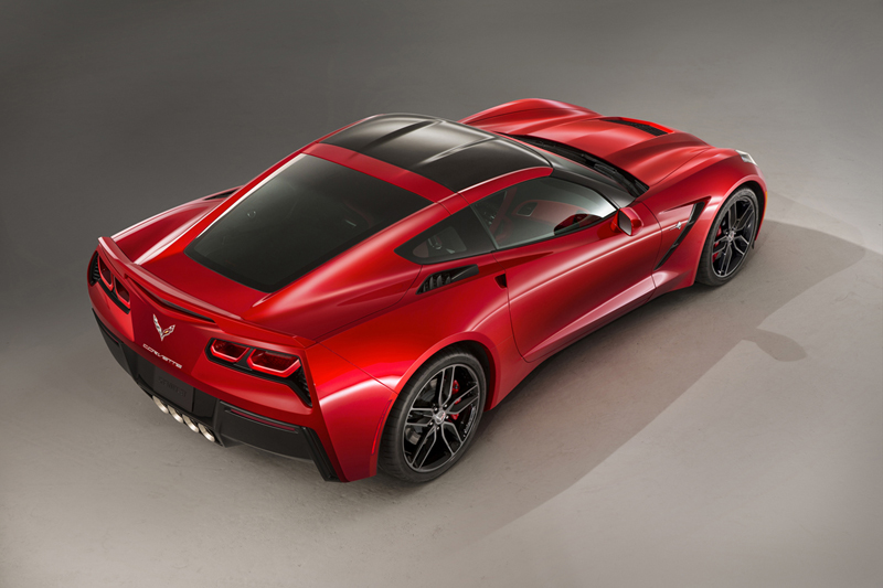 Foto Trasera Chevrolet Corvette Stingray Cupe 2013