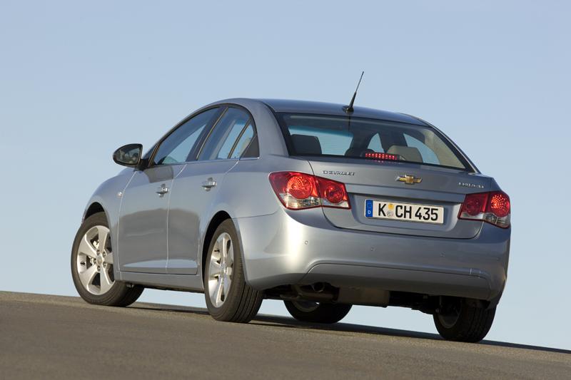 Foto Exteriores Chevrolet Cruze Sedan 2009