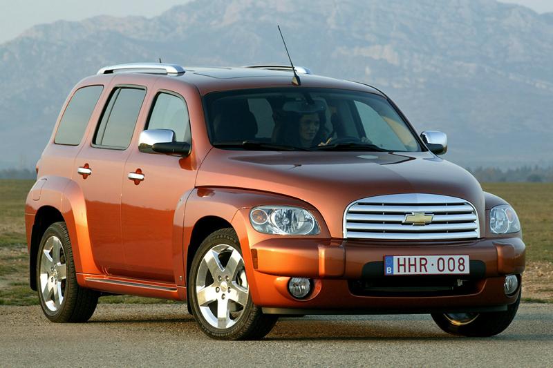 Foto Delantero Chevrolet Hhr Familiar 2008