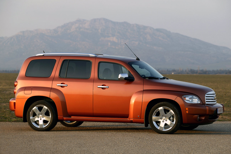 Foto Perfil Chevrolet Hhr Familiar 2008