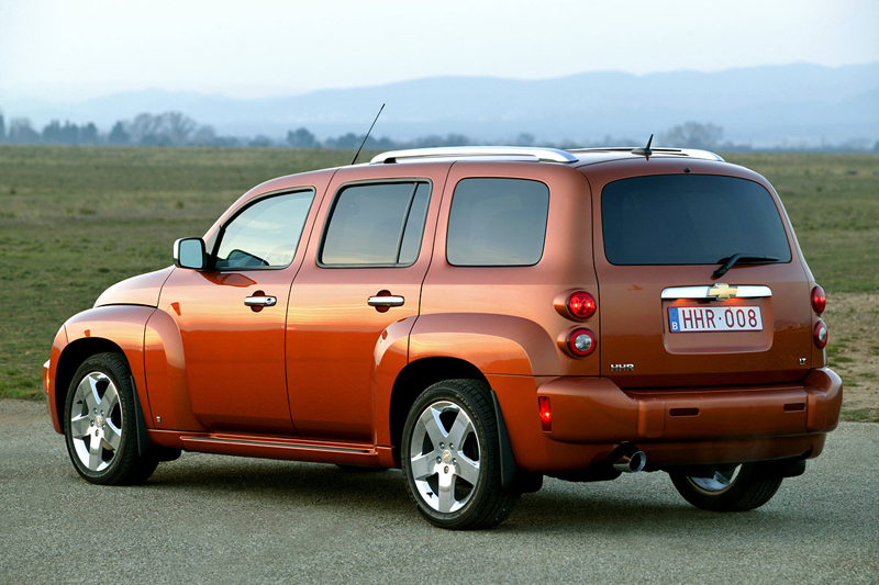 Foto Trasero Chevrolet Hhr Familiar 2008