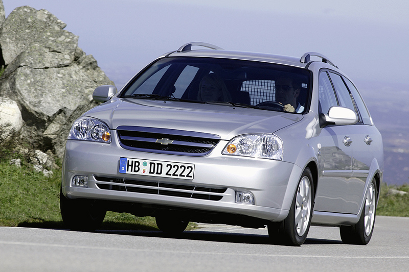 Foto Delantero Chevrolet Nubira Familiar 2008