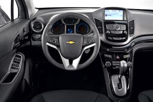 Chevrolet Orlando, Análisis plazas delanteras