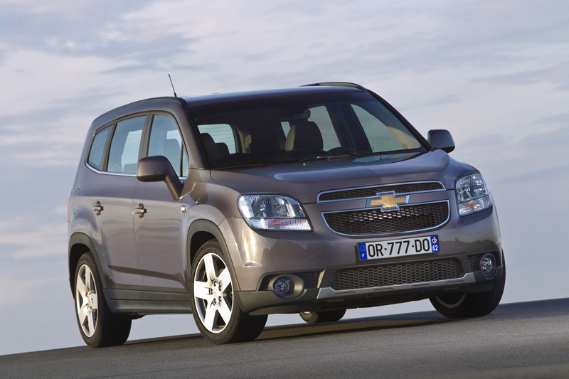 Foto Exteriores Chevrolet Orlando Monovolumen 2010