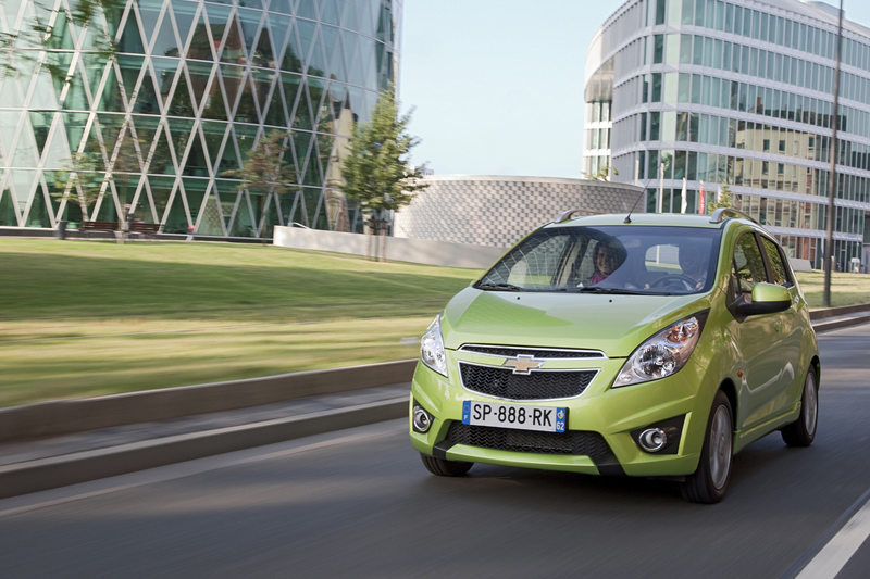 Foto Delantera Chevrolet Spark Dos Volumenes 2012