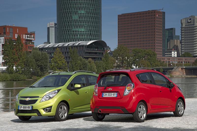 Foto Exteriores Chevrolet Spark Dos Volumenes 2012