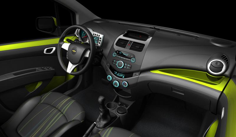 Foto Interiores Chevrolet Spark Dos Volumenes 2012