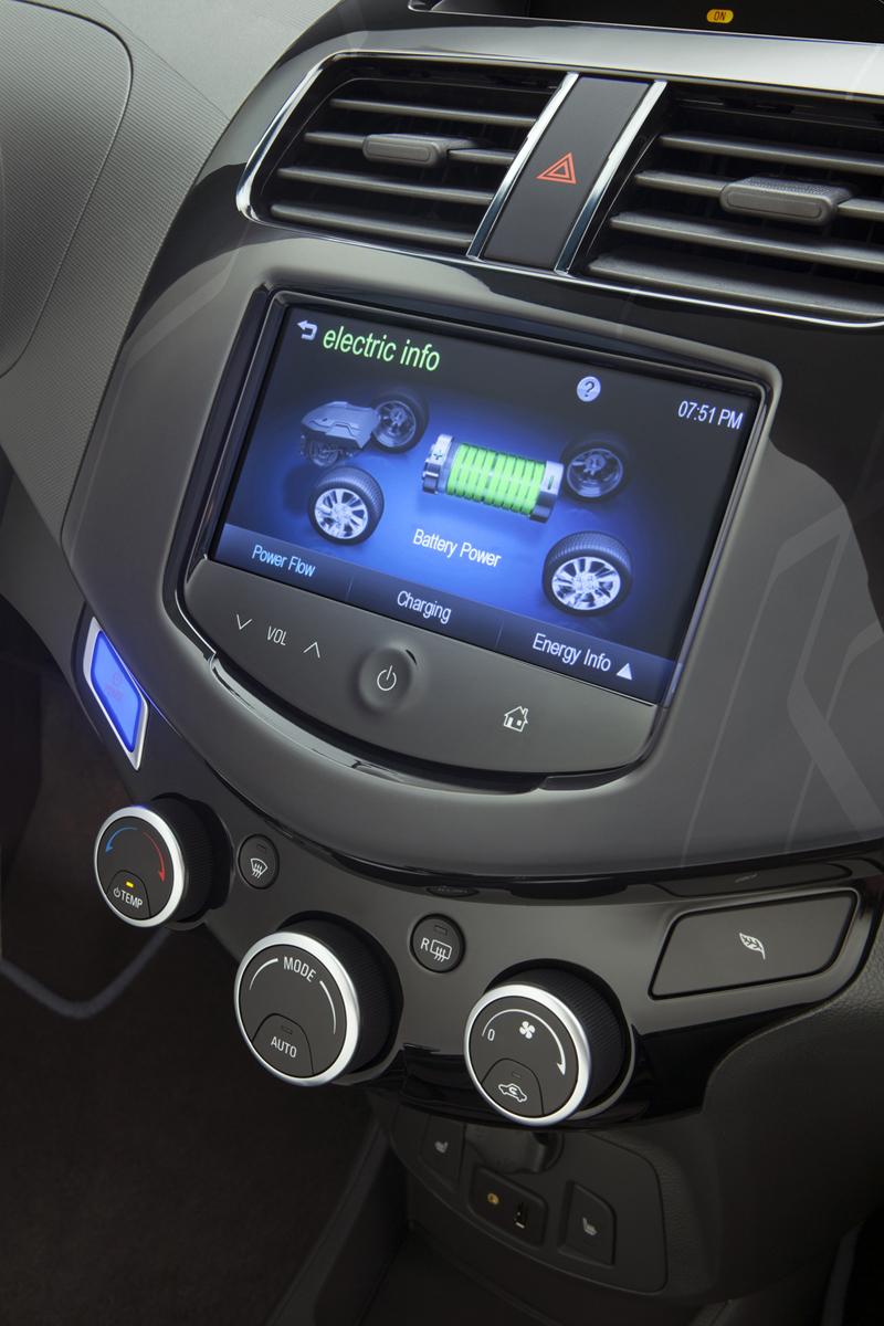 Chevrolet Spark EV 2012