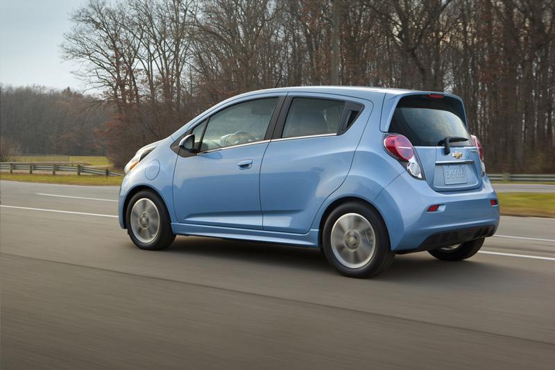 Foto Exteriores Chevrolet Spark Ev Dos Volumenes 2013