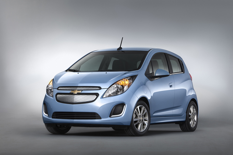 Foto Perfil Chevrolet Spark Ev Dos Volumenes 2013