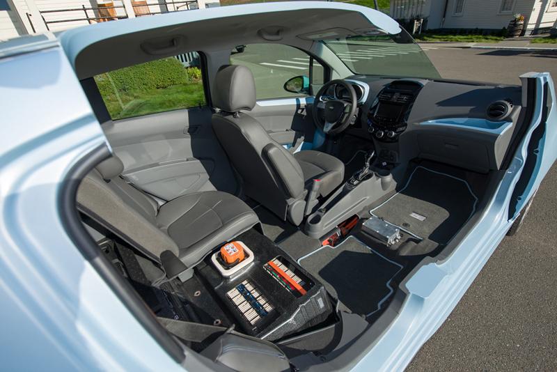 Foto Tecnicas Chevrolet Spark Ev Dos Volumenes 2013