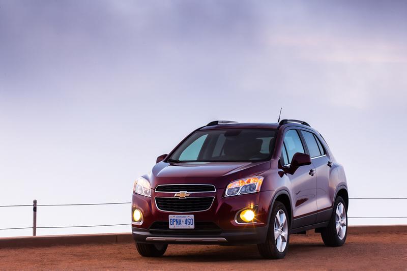 Nuevo Chevrolet Trax 2012