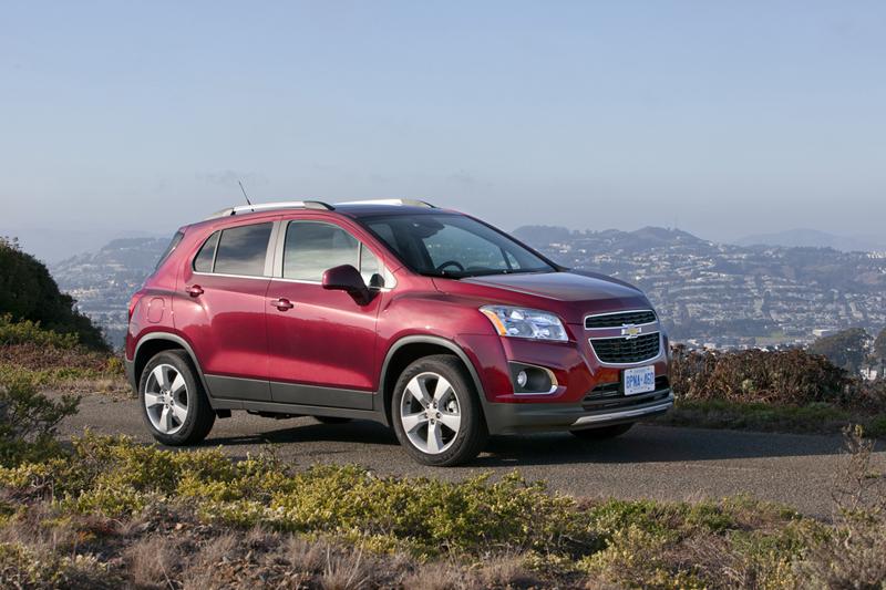 Foto Exteriores (13) Chevrolet Trax Suv Todocamino 2013