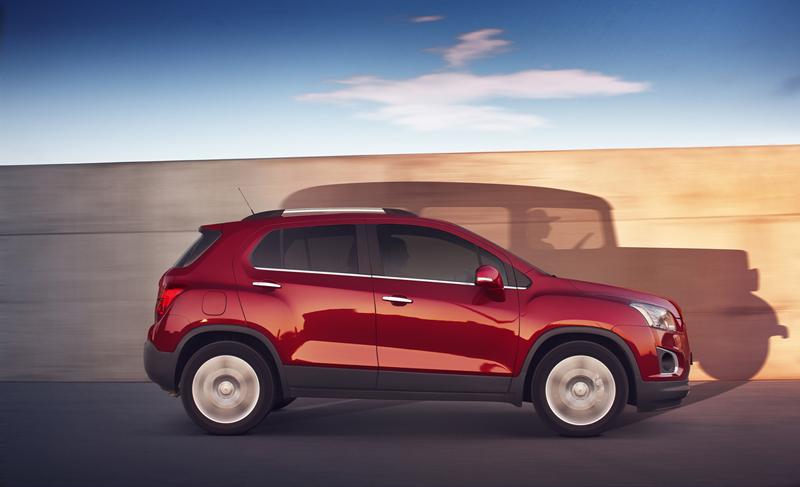 Foto Exteriores Chevrolet Trax Suv Todocamino 2013