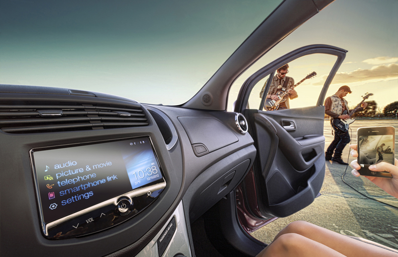 Foto Interiores (1) Chevrolet Trax Suv Todocamino 2013