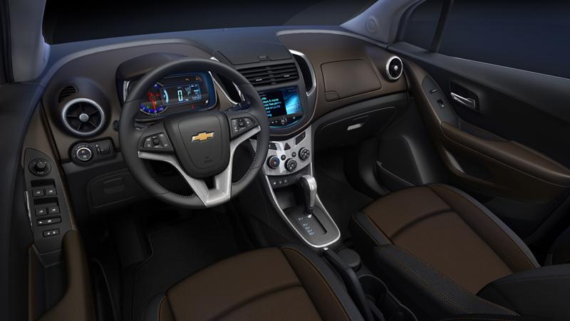Foto Interiores (3) Chevrolet Trax Suv Todocamino 2013