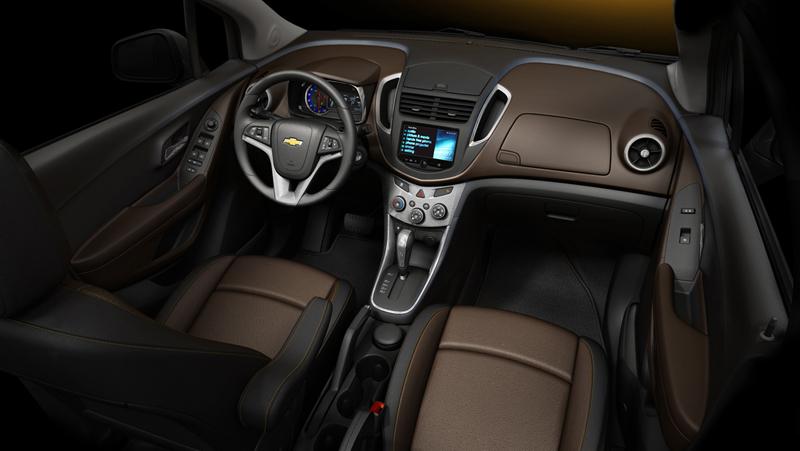 Foto Interiores Chevrolet Trax Suv Todocamino 2013