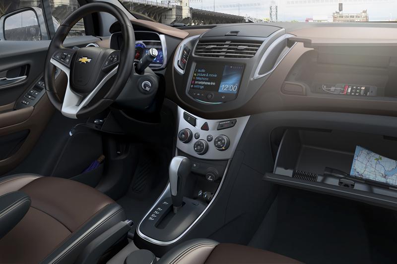 Foto Interiores (5) Chevrolet Trax Suv Todocamino 2013