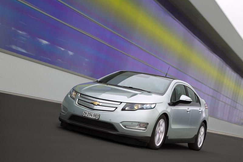 Foto Delantera Chevrolet Volt Sedan 2011