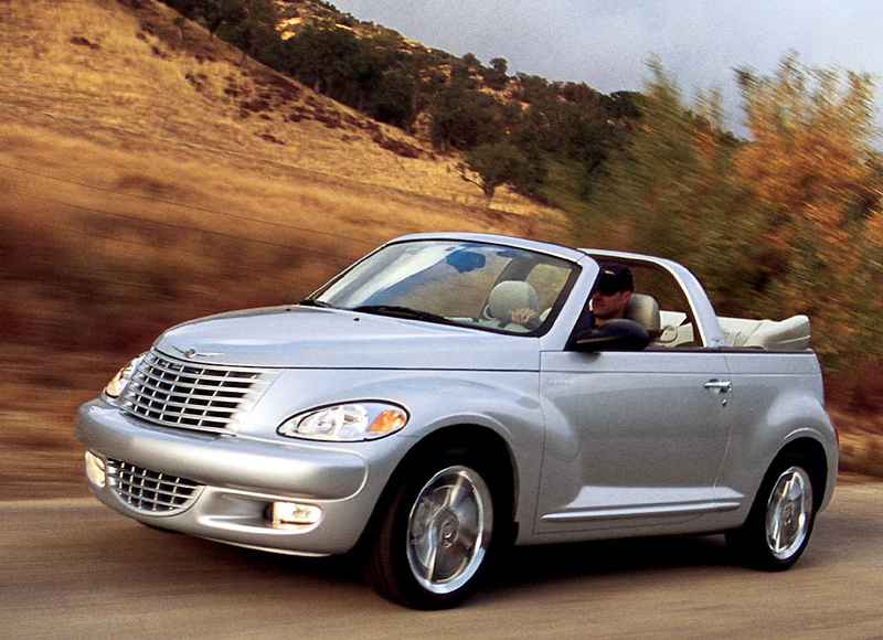Foto Delantero Chrysler Pt Cruiser Descapotable 1999