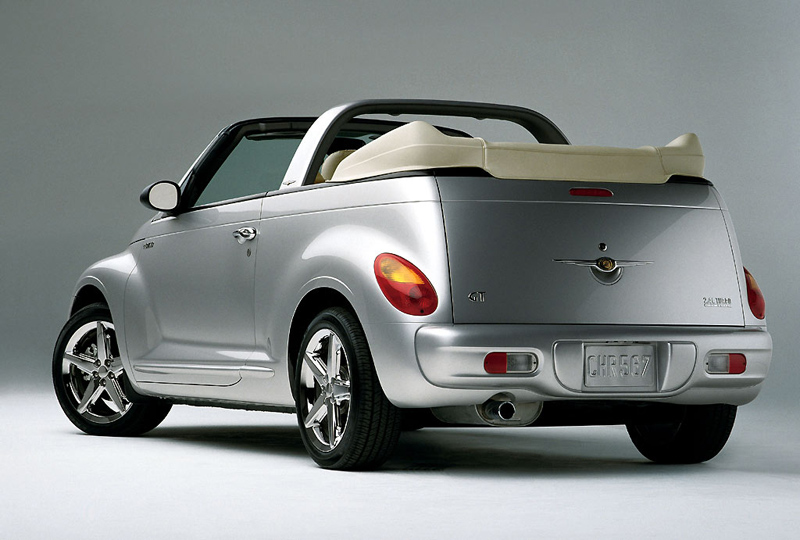 Foto Trasero Chrysler Pt Cruiser Descapotable 1999