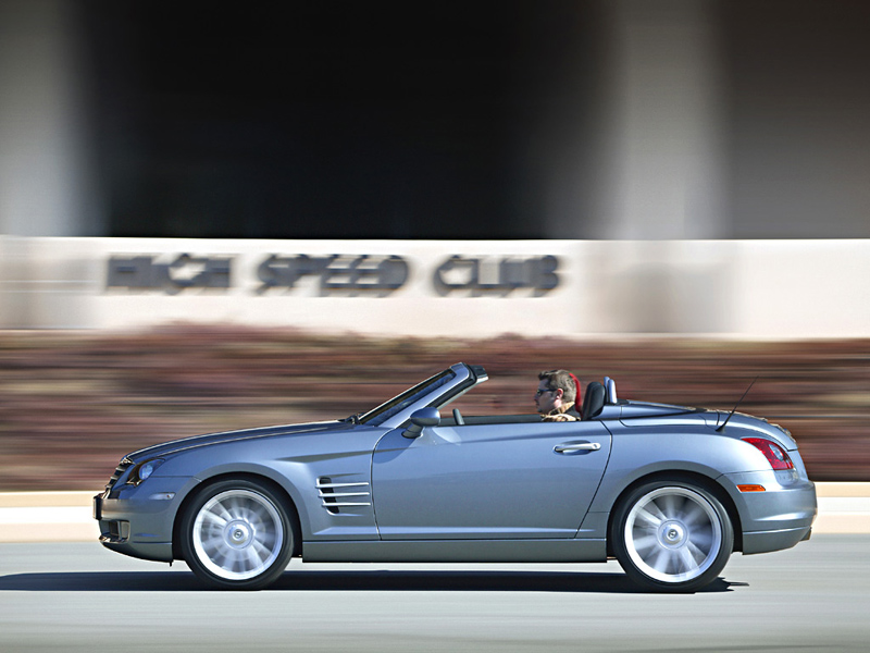 Foto Perfil Chrysler Crossfire Descapotable 2007