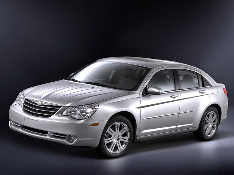Foto Frontal Chrysler Sebring Sedan 2008