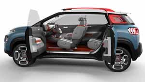 Foto Exteriores (9) Citroen C-aircross Concept Suv Todocamino 2017