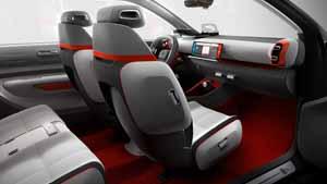 Foto Interiores (2) Citroen C-aircross Concept Suv Todocamino 2017