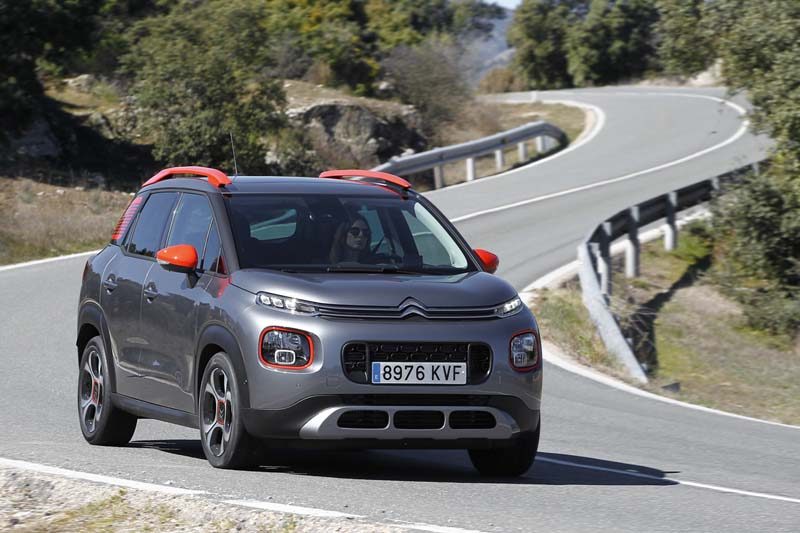 Citroën C3 Aircross BlueHDi 120 EAT6, foto delantera